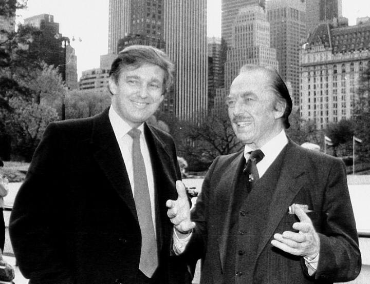 Trump e padre